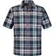 Schöffel Bischofshofen1 UV overhemd en blouse korte mouwen Heren grijs/rood